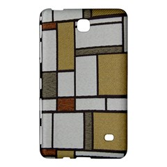 Fabric Textures Fabric Texture Vintage Blocks Rectangle Pattern Samsung Galaxy Tab 4 (8 ) Hardshell Case