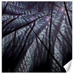 Fractal Art Picture Definition  Fractured Fractal Texture Canvas 16  X 16   by Simbadda