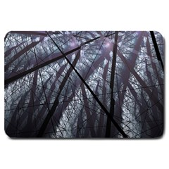 Fractal Art Picture Definition  Fractured Fractal Texture Large Doormat  by Simbadda