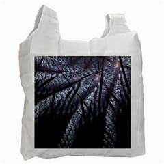 Fractal Art Picture Definition  Fractured Fractal Texture Recycle Bag (one Side)
