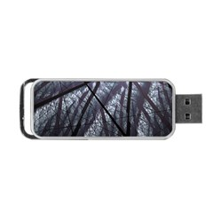 Fractal Art Picture Definition  Fractured Fractal Texture Portable Usb Flash (two Sides) by Simbadda