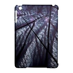 Fractal Art Picture Definition  Fractured Fractal Texture Apple Ipad Mini Hardshell Case (compatible With Smart Cover) by Simbadda