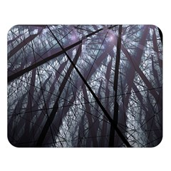 Fractal Art Picture Definition  Fractured Fractal Texture Double Sided Flano Blanket (large)