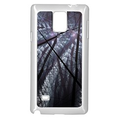 Fractal Art Picture Definition  Fractured Fractal Texture Samsung Galaxy Note 4 Case (white)