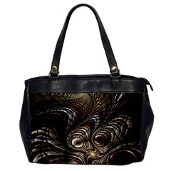 Fractal Art Texture Neuron Chaos Fracture Broken Synapse Office Handbags by Simbadda