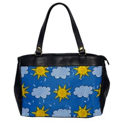 Sunshine Tech Blue Office Handbags by Simbadda