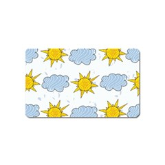 Sunshine Tech White Magnet (name Card) by Simbadda