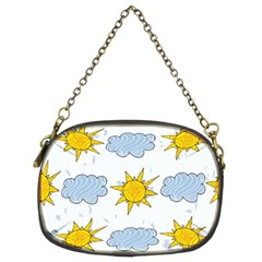Sunshine Tech White Chain Purses (two Sides)  by Simbadda