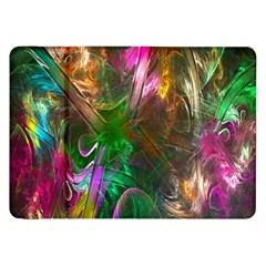 Fractal Texture Abstract Messy Light Color Swirl Bright Samsung Galaxy Tab 8 9  P7300 Flip Case by Simbadda