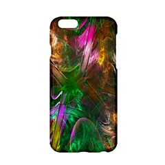 Fractal Texture Abstract Messy Light Color Swirl Bright Apple Iphone 6/6s Hardshell Case by Simbadda