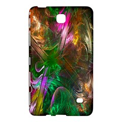 Fractal Texture Abstract Messy Light Color Swirl Bright Samsung Galaxy Tab 4 (7 ) Hardshell Case