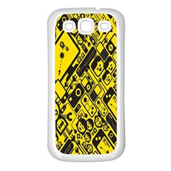Test Steven Levy Samsung Galaxy S3 Back Case (white) by Simbadda