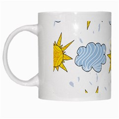 Sunshine Tech White White Mugs