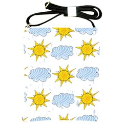 Sunshine Tech White Shoulder Sling Bags by Simbadda
