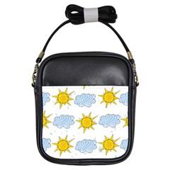 Sunshine Tech White Girls Sling Bags by Simbadda