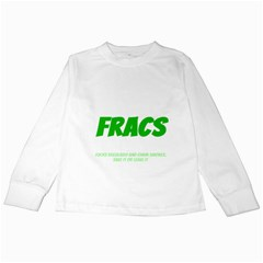 Fracs Kids Long Sleeve T-Shirts by CannyMittsDesigns