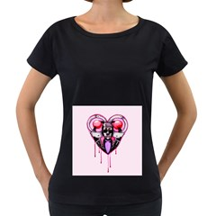 BDSM Love Women s Loose-Fit T-Shirt (Black) by lvbart