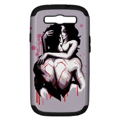 Love Marks Samsung Galaxy S Iii Hardshell Case (pc+silicone) by lvbart