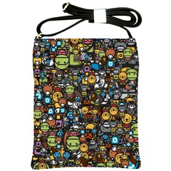 Many Funny Animals Shoulder Sling Bags by Simbadda