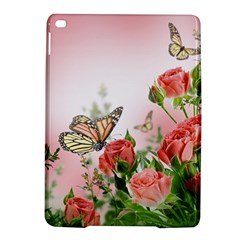 Flora Butterfly Roses Ipad Air 2 Hardshell Cases by Onesevenart