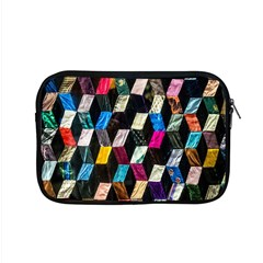 Abstract Multicolor Cubes 3d Quilt Fabric Apple Macbook Pro 15  Zipper Case