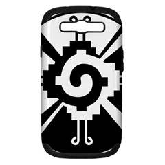 Maya Calendar Native American Religion Samsung Galaxy S Iii Hardshell Case (pc+silicone) by Onesevenart