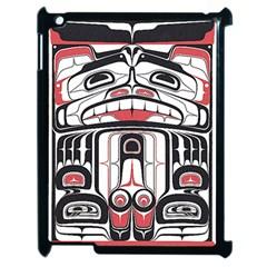 Ethnic Traditional Art Apple Ipad 2 Case (black) by Onesevenart