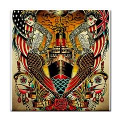 Hail Fine Art Print Tile Coasters by Onesevenart