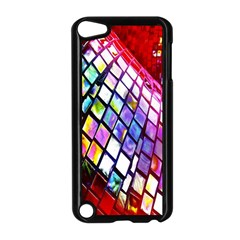 Multicolor Wall Mosaic Apple iPod Touch 5 Case (Black) by Onesevenart