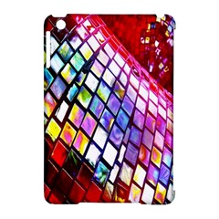 Multicolor Wall Mosaic Apple Ipad Mini Hardshell Case (compatible With Smart Cover) by Onesevenart