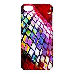 Multicolor Wall Mosaic Apple Iphone 5c Hardshell Case by Onesevenart