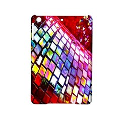 Multicolor Wall Mosaic Ipad Mini 2 Hardshell Cases by Onesevenart