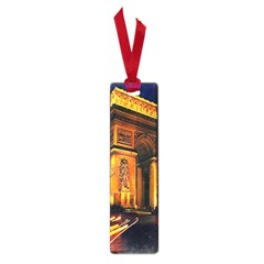 Paris Cityscapes Lights Multicolor France Small Book Marks by Onesevenart