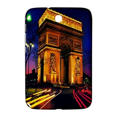 Paris Cityscapes Lights Multicolor France Samsung Galaxy Note 8 0 N5100 Hardshell Case  by Onesevenart
