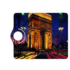 Paris Cityscapes Lights Multicolor France Kindle Fire Hdx 8 9  Flip 360 Case by Onesevenart