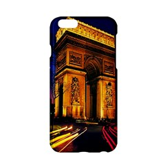 Paris Cityscapes Lights Multicolor France Apple Iphone 6/6s Hardshell Case by Onesevenart