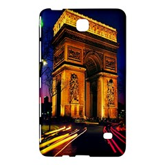 Paris Cityscapes Lights Multicolor France Samsung Galaxy Tab 4 (8 ) Hardshell Case  by Onesevenart