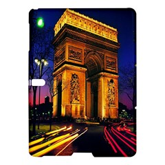 Paris Cityscapes Lights Multicolor France Samsung Galaxy Tab S (10 5 ) Hardshell Case  by Onesevenart