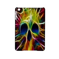 Skulls Multicolor Fractalius Colors Colorful Ipad Mini 2 Hardshell Cases by Onesevenart
