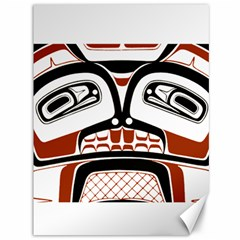 Traditional Northwest Coast Native Art Canvas 36  X 48   by Onesevenart