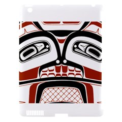 Traditional Northwest Coast Native Art Apple Ipad 3/4 Hardshell Case (compatible With Smart Cover) by Onesevenart