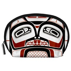 Traditional Northwest Coast Native Art Accessory Pouches (large)  by Onesevenart