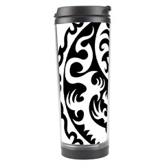 Ying Yang Tattoo Travel Tumbler by Onesevenart