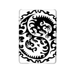 Ying Yang Tattoo Ipad Mini 2 Hardshell Cases by Onesevenart