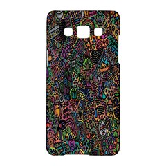 Trees Internet Multicolor Psychedelic Reddit Detailed Colors Samsung Galaxy A5 Hardshell Case  by Onesevenart