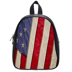 Usa Flag School Bags (small)  by Onesevenart