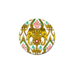 Traditional Thai Style Painting Golf Ball Marker (10 Pack) by Onesevenart
