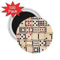 Old Domino Stones 2 25  Magnets (100 Pack)  by Onesevenart