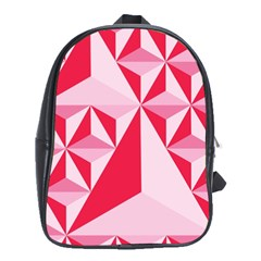 3d Pattern Experiments School Bags (xl)  by Onesevenart