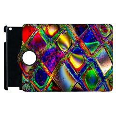 Abstract Digital Art Apple Ipad 3/4 Flip 360 Case by Onesevenart